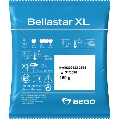 BELLASTAR XL zatmelovací hmota 12,8kg /80x160g/