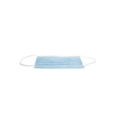 HS-ústní roušky s gumičkou, EARLOOP, modré, 50ks
