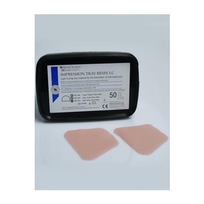 HS-pryskyřice nalžíce, zelená pro horní čelist, 50ks