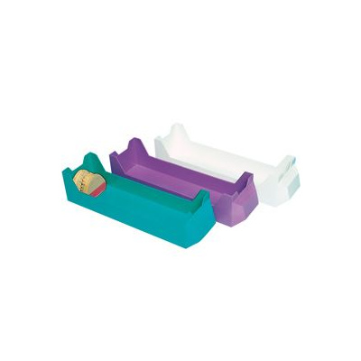 HS-nosiče namodely, fialové, bez prohlubně, 1 ks
