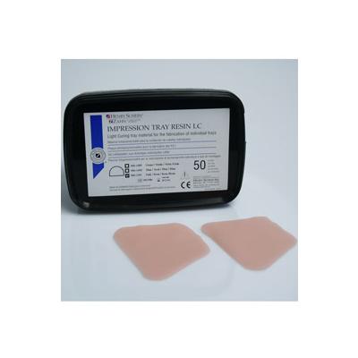 HS-pryskyřice nalžíce,růžová pro dolní čelist, 50 ks