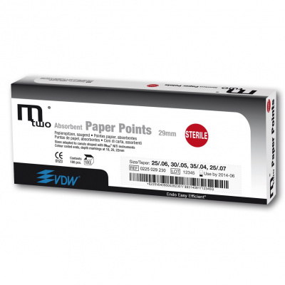 Mtwo Papírové čepy ISO 04/40, d. 29mm, 144ks