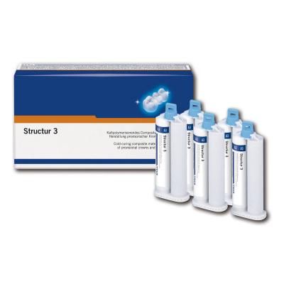 Structur 3 -kartuše 5x50 ml A2 + míchací hroty typu 6