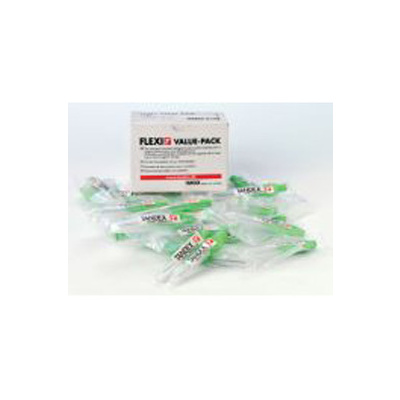 Mezizub. kar. FLEXI 2,5mm/0,35mm, tyrkysové, 25 ks