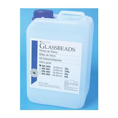HS-PERLY skleněné pro pískování, 5 kg /50um/