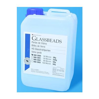HS-PERLY skleněné pro pískování, 25 kg /50um/
