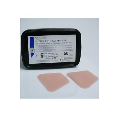 HS-pryskyřice nalžíce pro dolní čelist transpare 50ks