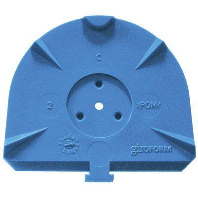 GIROFORM Base Plates CLASSIC L modrá 100ks