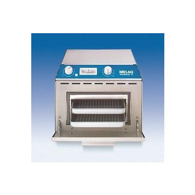 Horkovzdušný sterilizátor MELAG 75, držák č1+ 2 tácky