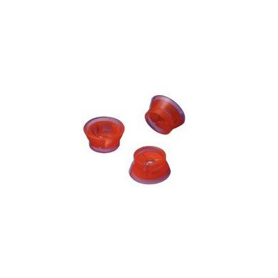 BLUEPHASE-oranž.krytka konická,silik. 3ks