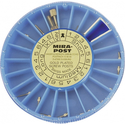 MIRAPOST GOLD čepy, vel. 1 pr.1,05 (M) 12ks