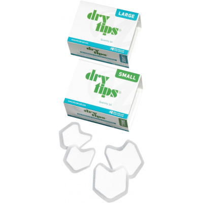 DRY TIPS absorbční čtverečky, malé 50ks