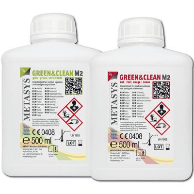GREEN&CLEAN M2, 1x500ml červený