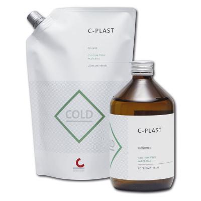 C-PLAST pryskyřice zastudena, bílá 500g