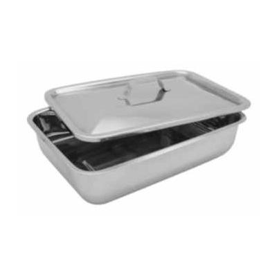 Krabička s poklopem aúchytem, nerez 230x150x60 mm QQ