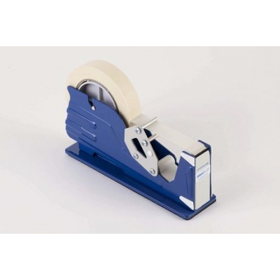 LP Dispenser pro lepící pásku (modrý-kov)