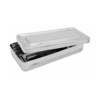 Krabička sterilizační, nerez, 200x100x30 mm QQ