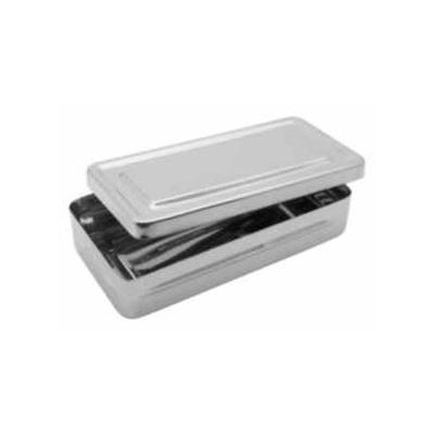 Krabička sterilizační, nerez, 200x100x40 mm