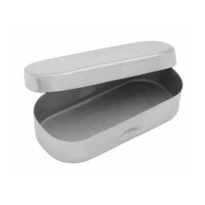 Krabička s bočními prohlubněmi, nerez 92x40x17 mm