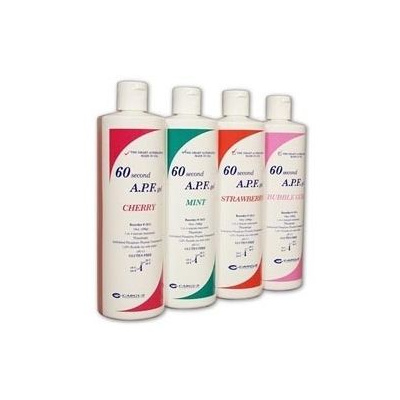 Fluoride gel APF jahoda 450 ml  /60 Second gel/