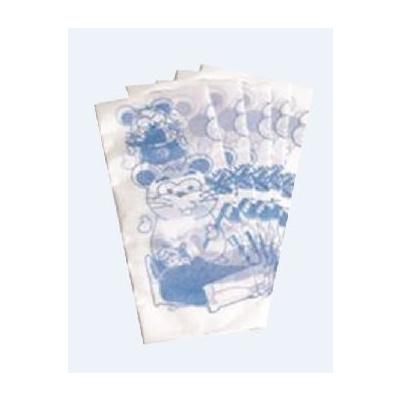 MONOART papírové ubr. dětské s potiskem, modré 100 ks
