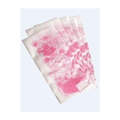MONOART papírové ubr. dětské s potiskem, růžové 100 ks