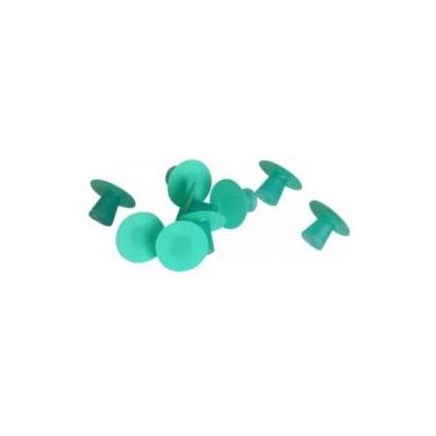 FLEXI-SNAP leštící disky pr. 12 mm, zelené hrubé 50ks