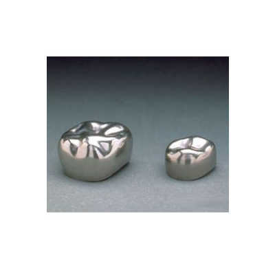 Korunky znerezové oceli, dětské, E-LL-3, bal. 2ks