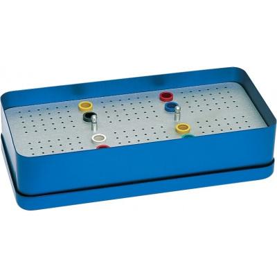 Endo-Eco box s víkem, modrý
