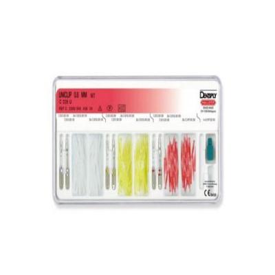 UNICLIP 308 spalitelné čepy, pr. 0,8 mm,červené 100 ks