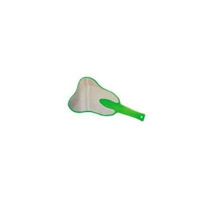 ZRCÁTKO ZAHN ve tvaru zubu, zelené