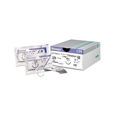 NOVOSYN 5-0, 45cm, fialové, DSMP 13