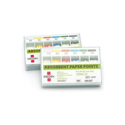 PAPÍROVÉ ČEPY absorbční kužel 0,06 set 015-040, kalibr