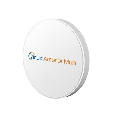 Zirlux Multi Anterior, 98,5x25 mm, A2