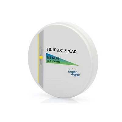 E.max ZirCAD MT Multi B1 98,5-16mm/1