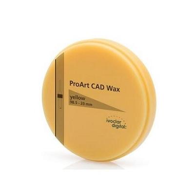 ProArt CAD Wax, žlutý, 98,5/20mm