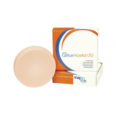 ZIRLUX Acetal Milling Disc Pink, 98,5x20mm