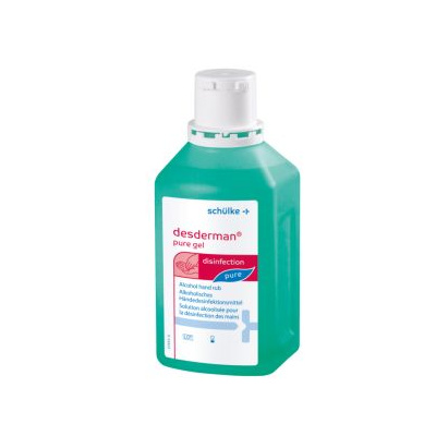 DESDERMAN Pure gel, láhev 500ml