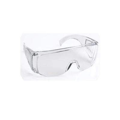 Ochranné brýle plastové, s bočnicemi (průhledný plast)