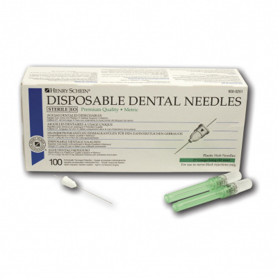 HS-injekční jehly, 27G, krátká, O0,4 x 42 mm, 100 ks