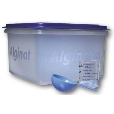HS-Prázdná nádoba naalginát s víkem bez odměrky