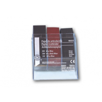 HS-artikulační papír, sortiment 500 ks
