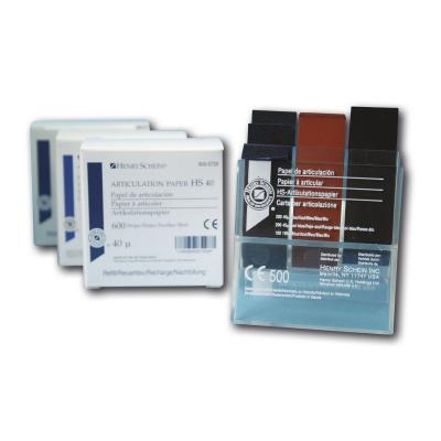 HS-artikulační papír 195: síla 195 µ, modrý, 300 ks zá