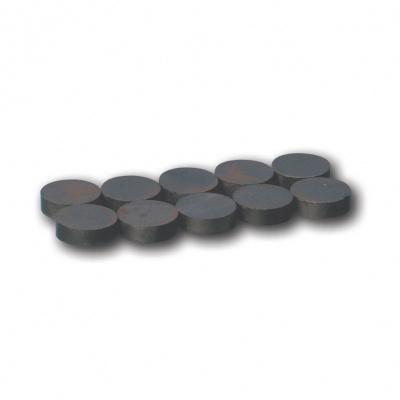 HS-Magnet-Split-systém, magnet. destičky, 20mm, 10 ks