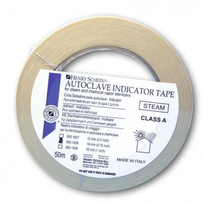 HS-indikátor- páska pro autokláv šířka 25 mm, role 50m