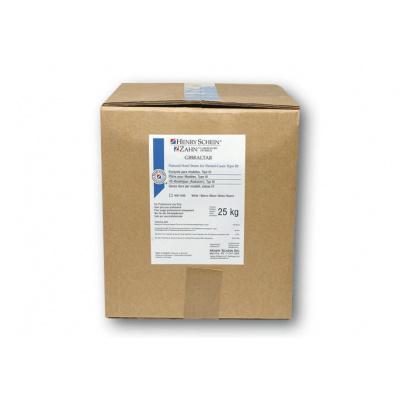 HS-sádra Gibraltar syntetická, modrá, karton 25 kg