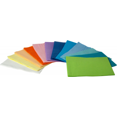HS-Dri-Gard papírové ubrousky oranžové, 500 ks