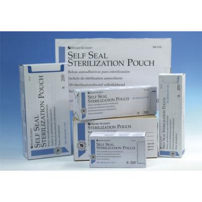 HS-sterilizační sáčky samolep.134x280mm,ind. P, 200 ks