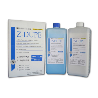 HS-Z-DUPE silikon. dublovácí hmota A+B, zelená, 2x6 kg