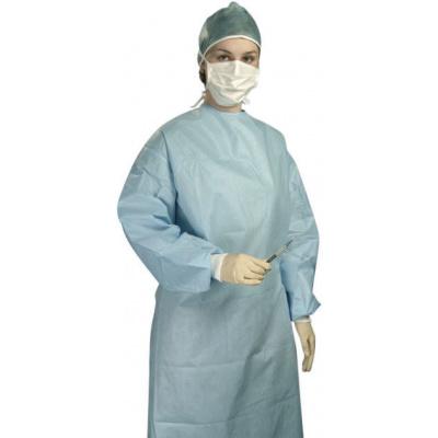 HS-OP sterilní operační plášť Classic modrý vel L  1ks
